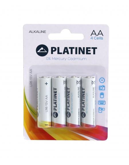 PLATINET ΑΛΚΑΛΙΚΗ ΜΠΑΤΑΡΙΑ LR06(AA) 4P