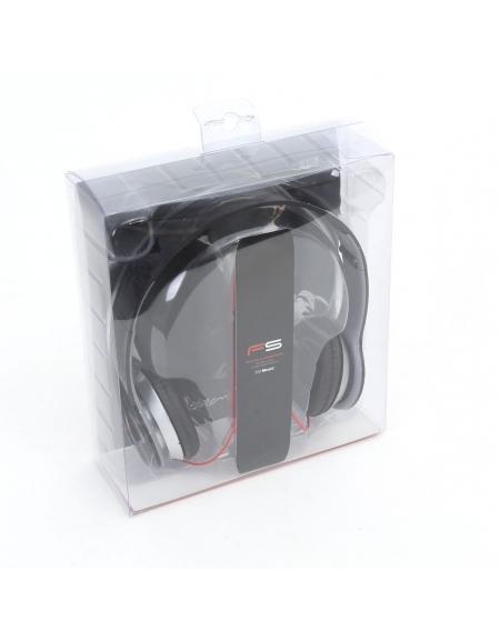 FREESTYLE HI-FI STEREO HEADPHONES FH4007 ΜΙΚΡΟΦΩΝΟ AUDIOBEAT ΜΑΥΡΟ [41867]