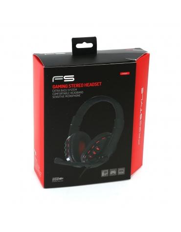 FREESTYLE HEADSET FH-5401 HI-FI + ΜΙΚΡΟΦΩΝΟ GAMING USB [42690]