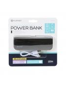 PLATINET POWER BANK ΔΕΡΜΑΤΙΝΟ 7200mAh  ΜΑΥΡΟ + καλώδιο microUSB [43412]