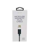 PLATINET ΚΑΛΩΔΙΟ MICRO USB ΣΕ USB  ΜΕ ΜΑΓΝΗΤΙΚΗ ΕΠΑΦΗ 1,2M