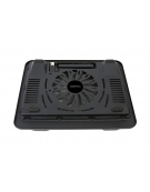 OMEGA LAPTOP COOLER PAD (WIND) 14 CM FAN BLACK 42427