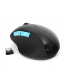 "MOUSE OMEGA OM-425 ""FAT"" 2in1 ACCU WIRELESS 2,4GHz 1000DPI BLACK [43664]"