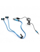 FREESTYLE ZIP EARPHONES + MIC FH2111 BLUE [41799]