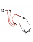 FREESTYLE ZIP EARPHONES + MIC FH2111 RED [41802]