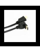 OMEGA ΚΑΛΩΔΙΟ HDMI v.1.4 GOLD ΓΩΝΙΑΚΟ 3M BLISTER 41853