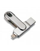 PLATINET  iOS PENDRIVE USB 3.0 16GB + LIGHTNING PLUG FOR Ipad & iPHONE [44323]