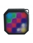 PLATINET SPEAKERS PMG5 BLUETOOTH LED IPX4 5W [43973]