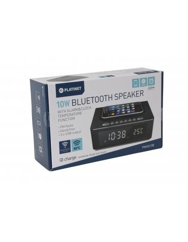 PLATINET SPEAKERS PMGQ10B BLUETOOTH NFC, QI, FM [44229]