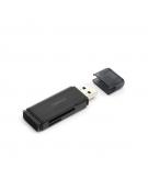 OMEGA CARD READER microSDHC USB 3.0 BLACK