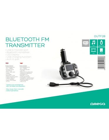 OMEGA TRANSMITTER FM LCD USB READER F24 2013 Edition [40587]