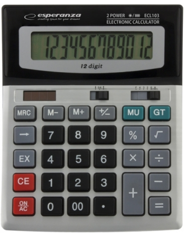 ESPERANZA DESKTOP CALCULATOR EULER