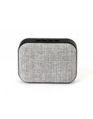 OMEGA SPEAKER OG58DG BLUETOOTH V4.1 FABRIC LIGHT GREY [44334]