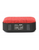 OMEGA SPEAKER OG58DG BLUETOOTH V4.1 FABRIC RED [44336]
