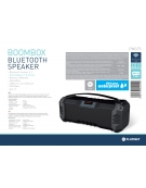 PLATINET SPEAKER OG75 BOOMBOX BLUETOOTH BLACK [44414]