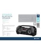 PLATINET SPEAKER OG76 BOOMBOX BLUETOOTH BLACK [44416]