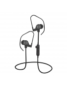 PLATINET IN-EAR BLUETOOTH V4.2 + microSD + ΜΙΚΡΟΦΩΝΟ ΜΑΥΡΟ [44472]