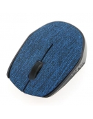 MOUSE OMEGA OM-430 WIRELESS FABRIC BRAIDED DARK BLUE [44564]