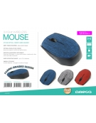MOUSE OMEGA OM-412 WIRELESS 2,4GHz 1000DPI BLACK [42978]