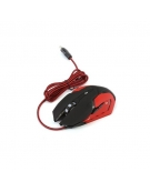 VARR GAMING SET LED MOUSE 800 - 2400 DPI + PAD [44640]