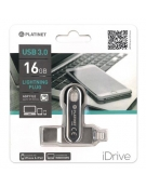 PLATINET iOS PENDRIVE USB 3.0 16GB + LIGHTNING PLUG FOR iPAD&iPHONE