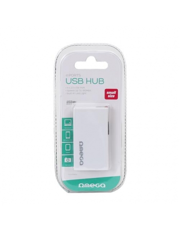gioths, alex 12/1 OMEGA USB 2.0 HUB 4 PORT BOX WHITE