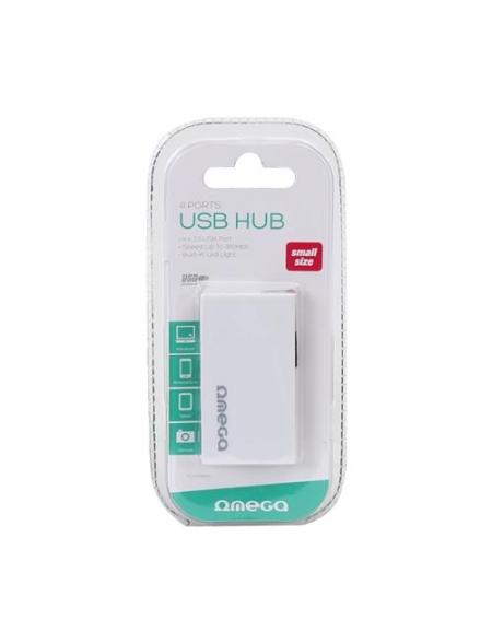 gioths, alex 12/1 OMEGA USB 2.0 HUB 4 PORT BOX WHITE