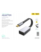 PLATINET MULTIMEDIA ADAPTER TYPE C to VGA 1080 60Hz