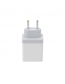 PLATINET WALL CHARGER 3xUSB 3A WHITE