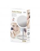 PLATINET MIRROR ROUND LAMP 3W WHITE