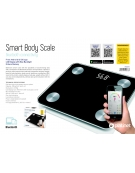 PLATINET BATHROOM BODY SCALE SMART BLUETOOTH BLACK