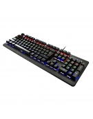 VARR GAMING RGB BLACK MECHANICAL KEYBOARD MULTIMEDIA Xinda Blue Switch