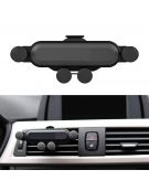 OMEGA UNIVERSAL CAR AIR VENT HOLDER GRAVITY SPIDER BLACK