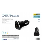 PLATINET CAR CHARGER QUICK CHARGE 3.0 1xUSB 18W BLACK