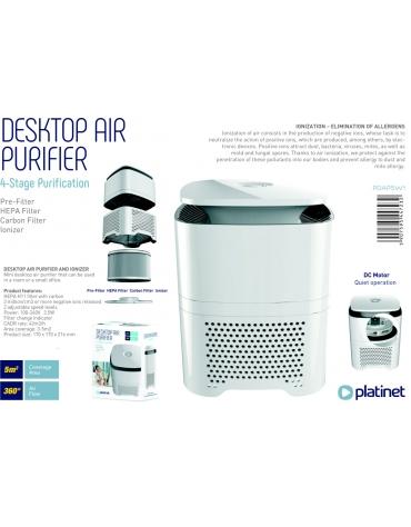 PLATINET DESKTOP AIR PURIFIER HEPA 5W