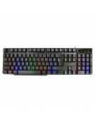 VARR GAMING RGB BLACK KEYBOARD MULTIMEDIA