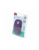 MOUSE OMEGA OM-414 ΑΣΥΡΜΑΤΟ 2,4GHz 1000DPI RUBBER PURPLE [42596]
