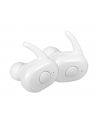 FREESTYLE BLUETOOTH V5.0 EARPHONES SPORT + CHARGING STATION FS1083 WHITE