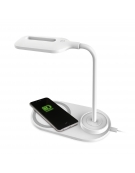 PLATINET DESK LAMP WIRELESS CHARGER 5W WHITE