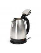 OMEGA ELECTRIC KETTLE 1500W STAINLESS STEEL BRUSHED FINISH