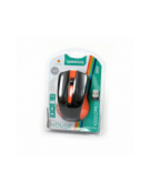 MOUSE OMEGA OM-419 ΑΣΥΡΜΑΤΟ 2,4GHz 1000DPI ORANGE NANO USB RECEIVER [41794]