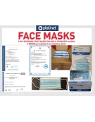FACE MASKS 3-PLY 50 PACK