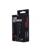 Car charger Maxlife  2xUSB Fast Charge 2.4A