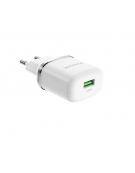 Borofone Wall charger BA36A 1USB QC 3.0 white