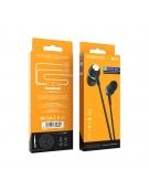 Borofone Wired earphones BM36  black