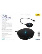 PLATINET MULTIMEDIA HUB 4 PORTS USB3.0