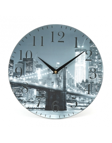 PLATINET CLOCK/WALL CLOCK/CITY