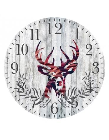 PLATINET CLOCK WALL CLOCK DEER