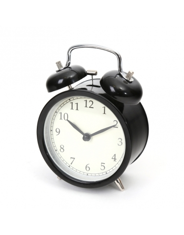 PLATINET CLOCK/ALARM CLOCK MARCH BLACK
