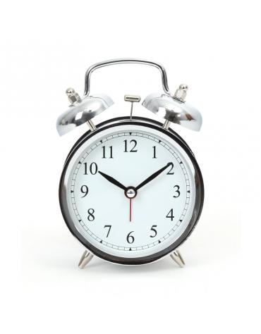 PLATINET CLOCK/ALARM CLOCK MARCH SILVER